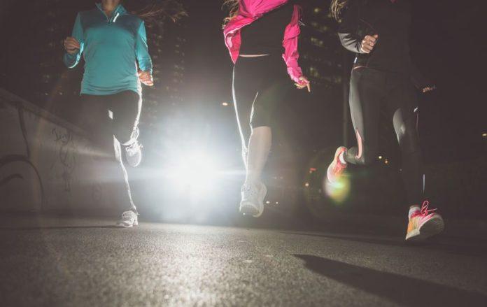hacer ejercicio en las noches